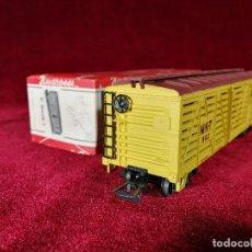 Trenes Escala - Vagon Rivarossi Escala H0 C Stock/1 Ganado, mercancias MKT 502 ''The Katy'' - Con Caja Buen Estado - 150346078