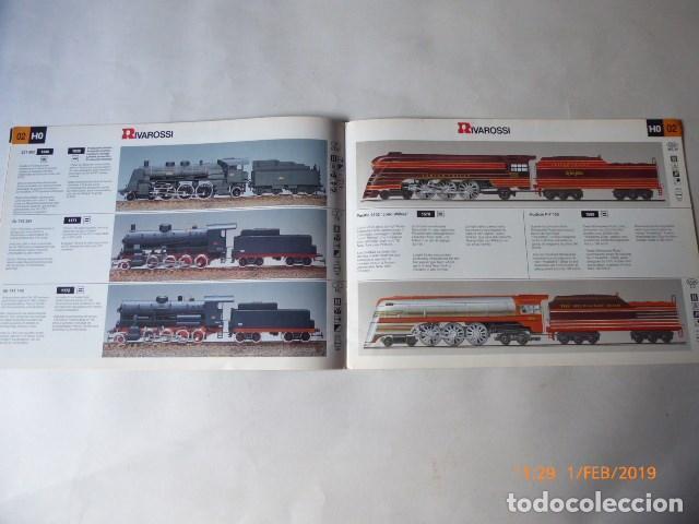 Trenes Escala: catalogo novedades rivarossi, 1993, 24 pag. - Foto 3 - 150648054
