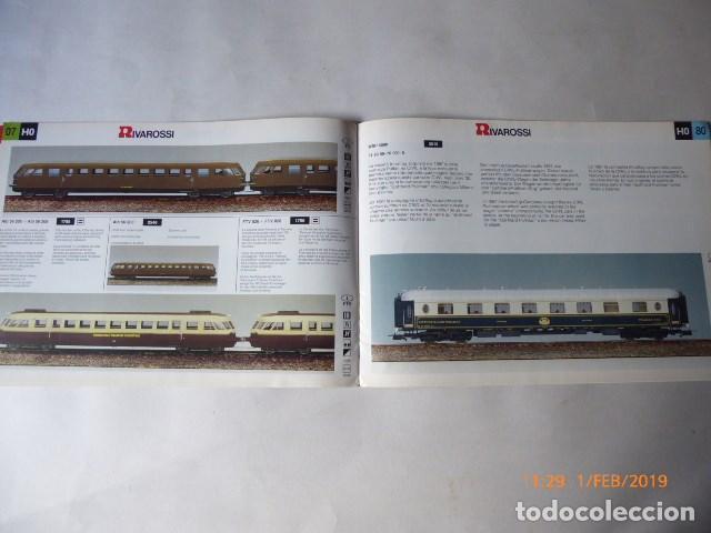 Trenes Escala: catalogo novedades rivarossi, 1993, 24 pag. - Foto 4 - 150648054