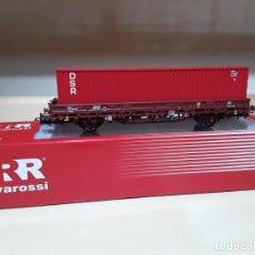 Trenes Escala: HN6306 VAGÓN PORTACONTENEDORES DSB RIVAROSSI. Lote 151268738