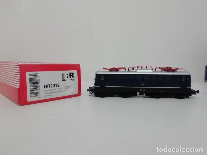 RIVAROSSI H0 HR2312 LOCOMOTORA ELÉCTRICA DIGITAL DB 110 003-1 EP IV NUEVO A ESTRENAR (Juguetes - Trenes a Escala H0 - Rivarossi H0)