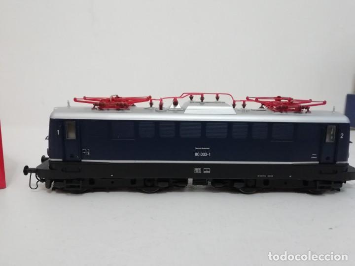 Trenes Escala: RIVAROSSI H0 HR2312 Locomotora eléctrica Digital DB 110 003-1 Ep IV NUEVO a estrenar - Foto 2 - 156968022