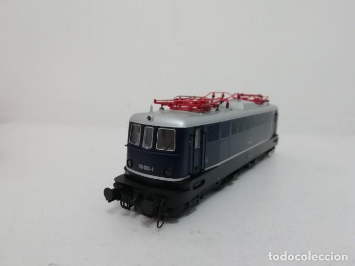 Trenes Escala: RIVAROSSI H0 HR2312 Locomotora eléctrica Digital DB 110 003-1 Ep IV NUEVO a estrenar - Foto 3 - 156968022