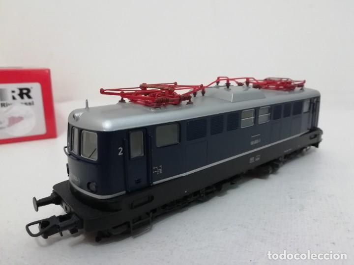 Trenes Escala: RIVAROSSI H0 HR2312 Locomotora eléctrica Digital DB 110 003-1 Ep IV NUEVO a estrenar - Foto 4 - 156968022