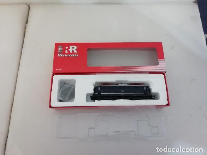 Trenes Escala: RIVAROSSI H0 HR2312 Locomotora eléctrica Digital DB 110 003-1 Ep IV NUEVO a estrenar - Foto 7 - 156968022