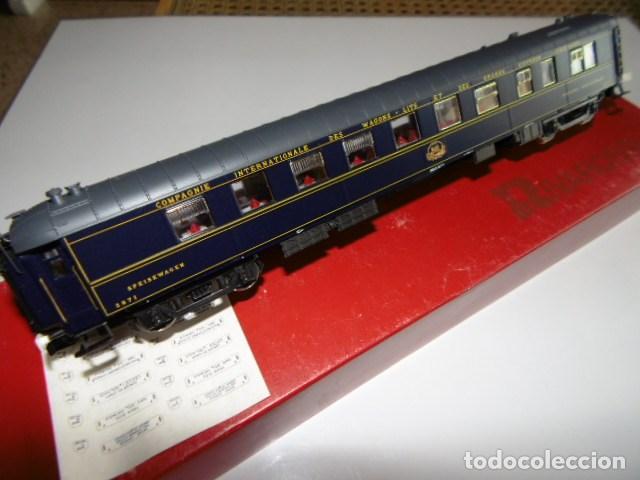 Trenes Escala: rivarossi, coche restaurante, wagons-list, como nuevosin usar. ho - Foto 2 - 159898218