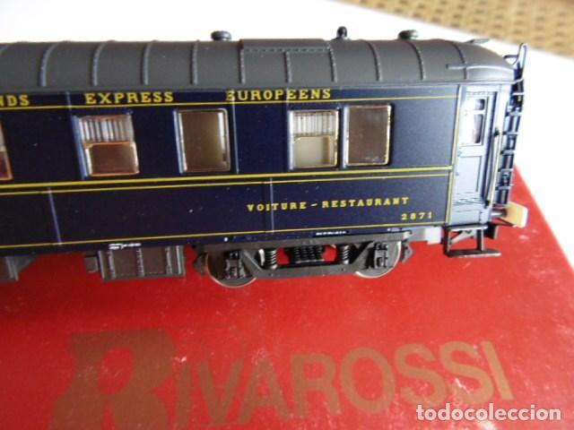 Trenes Escala: rivarossi, coche restaurante, wagons-list, como nuevosin usar. ho - Foto 3 - 159898218