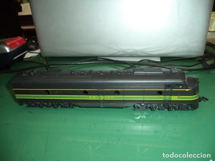 LOCOMOTORA RIVAROSSI (Juguetes - Trenes a Escala H0 - Rivarossi H0)
