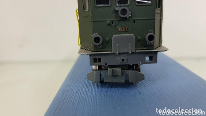 Trenes Escala: Locomotora 10217 de rivarossi le faltan dos topes y los enganches verde de 14 cm - Foto 6 - 181748125