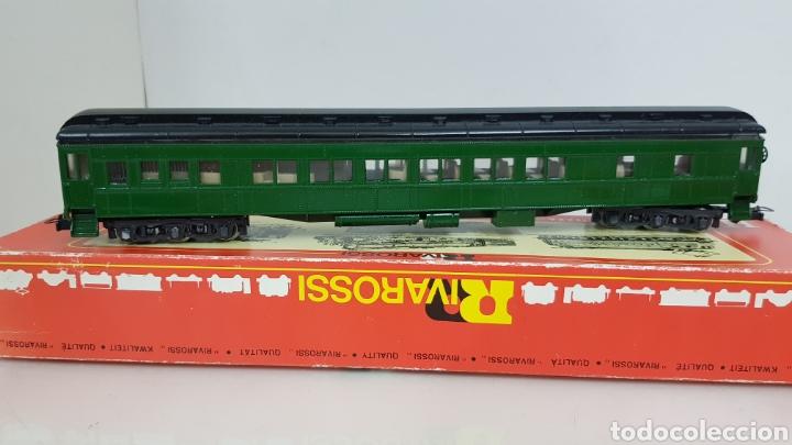 Trenes Escala: Coches Pullman rivarossi tiene roto el techo 29 cm en verde - Foto 3 - 178867520