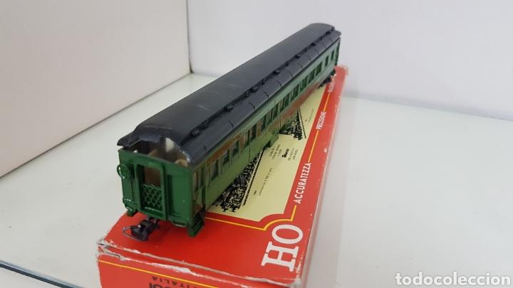 Trenes Escala: Coches Pullman rivarossi tiene roto el techo 29 cm en verde - Foto 4 - 178867520