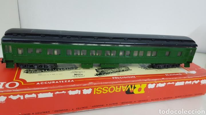 Trenes Escala: Coches Pullman rivarossi tiene roto el techo 29 cm en verde - Foto 5 - 178867520