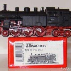 Trenes Escala: LOCOMOTORA DE VAPOR BR77 DE RIVAROSSI ESCALA HO REF.:1390 . Lote 193942017