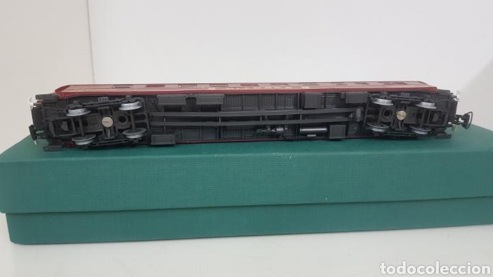 Trenes Escala: Micro para vagón alemán escala H0 rivarossi granate con detalles dorados de 28 cm - Foto 5 - 194064780
