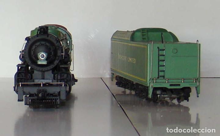 Trenes Escala: LOCOMOTORA DE VAPOR DE RIVAROSSI REF 1285 ESCALA HO CC. - Foto 2 - 194953365