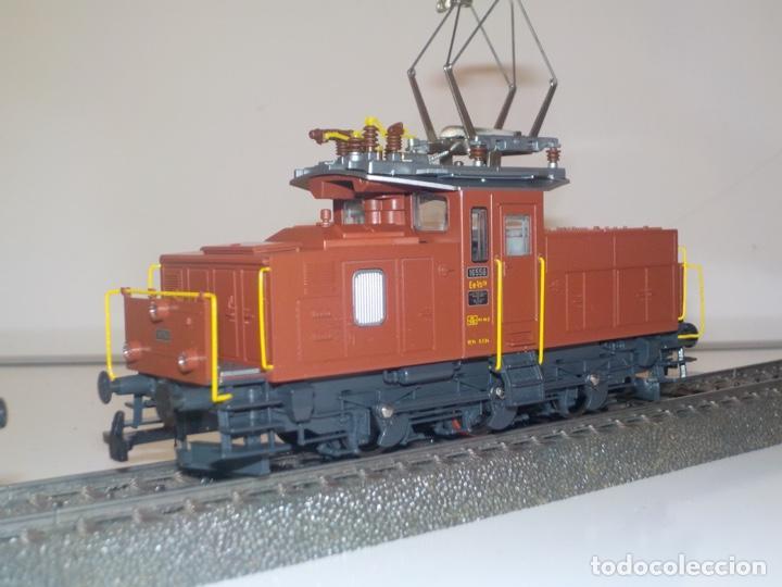 Trenes Escala: Locomotora Rivarossi RI EE 3/3 6-02338 - Foto 4 - 195427141