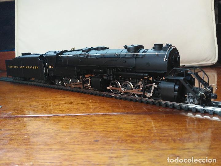 Trenes Escala: Locomotora 2-8-8-2 Cl. Y6b (Mallet) Norfolk & Western prácticamente nueva - Foto 2 - 197981033
