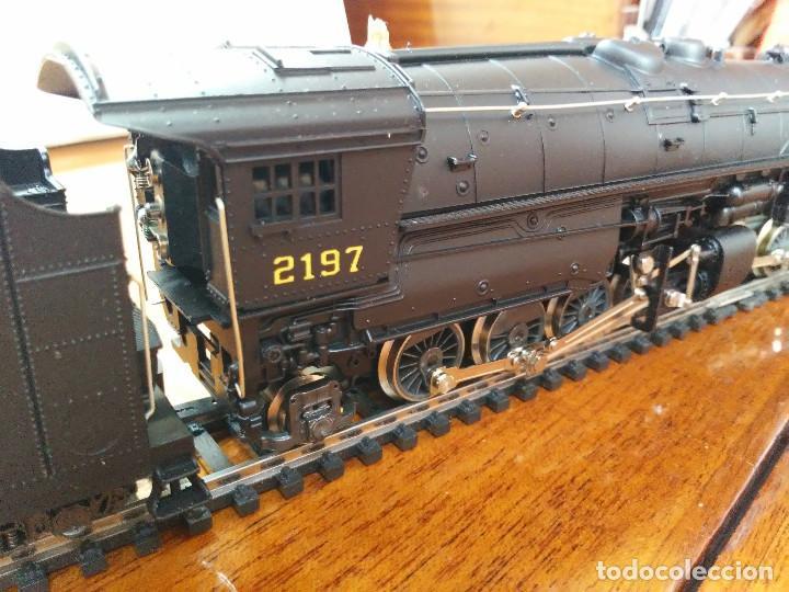 Trenes Escala: Locomotora 2-8-8-2 Cl. Y6b (Mallet) Norfolk & Western prácticamente nueva - Foto 3 - 197981033