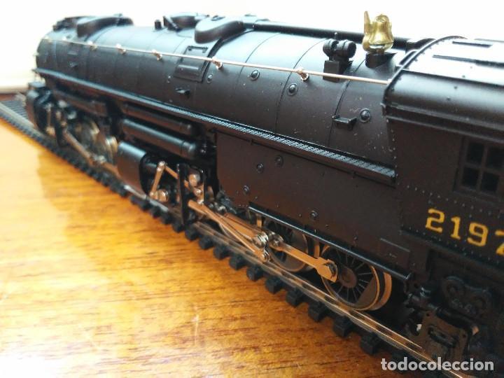 Trenes Escala: Locomotora 2-8-8-2 Cl. Y6b (Mallet) Norfolk & Western prácticamente nueva - Foto 7 - 197981033