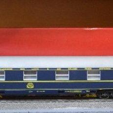 Trenes Escala: RIVAROSSI H0 COCHE CAMAS TIPO M, DE LA CÍA INTERNACIONAL WAGONS-LITS, REFERENCIA 2517.. Lote 198110972