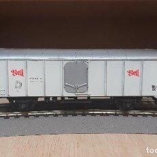 Trenes Escala: POCHER H0 VAGÓN FRIGORIFICO *BELL* DE LA SBB - CFF, REFERENCIA 323.. Lote 198575193