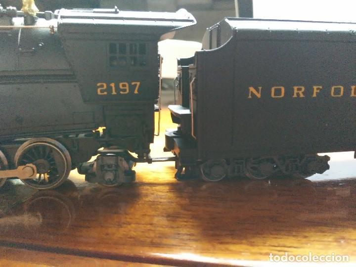 Trenes Escala: Locomotora 2-8-8-2 Cl. Y6b (Mallet) Norfolk & Western prácticamente nueva - Foto 12 - 197981033