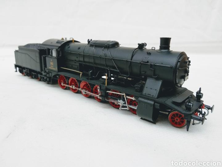 LOCOMOTORA VAPOR RIVAROSSI REF 1302 K WÜ ST E KLASSE K 1810 (DR Y DB BR59) (Juguetes - Trenes a Escala H0 - Rivarossi H0)