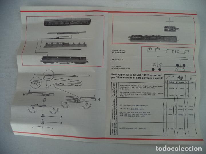 Trenes Escala: KIT DE LUZ INTERIOR DE LOCOMOTORA RIVAROSSI - Foto 4 - 200312425