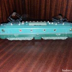 Trenes Escala: POCHER LOCOMOTIVA 801/2 ELECTRIQUE SNCF CC 7107 TORINO MADE IN ITALY H0. Lote 206291186