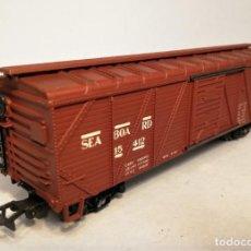Trenes Escala: RIVAROSSI. ESCALA H0. VAGÓN AMERICANO BOXCAR. SEABOARD LINE, #15412.. Lote 206880640