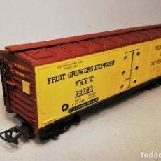 Trenes Escala: RIVAROSSI. ESCALA H0. VAGÓN AMERICANO REFEER CAR. FRUIT GROWERS EXPRESS. #39783.. Lote 206959093