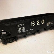 Trenes Escala: RIVAROSSI. ESCALA H0.VAGÓN AMERICANO HOPPER B & O. #532003.. Lote 206959755