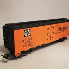 Trenes Escala: RIVAROSSI.ESCALA H0. REFEER SANTA FE - EL CAPITAN #8175.. Lote 208028922