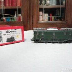 Trenes Escala: RIVAROSSI H0 1656 LOCOMOTORA ELÉCTRICA AE 3/5 10216 SBB DIGITAL NUEVA. Lote 208426885