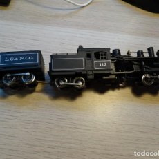 Trenes Escala: LOCOMOTORA RIVAROSSI H0 - 1529 - STEAM LOCOMOTIVE THREE TRUCK HEISLER L.C. & N.CO. 112. Lote 213652028