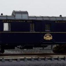 Trenes Escala: RIVAROSSI H0 COCHE-FURGÓN DE BOGIES Nº 1270 DE LA CÍA INTERNACIONAL WAGONS-LITS, REFERENCIA 2578.. Lote 218994212