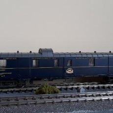 Trenes Escala: RIVAROSSI H0 COCHE-FURGÓN DE BOGIES Nº 1270 DE LA CÍA INTERNACIONAL WAGONS-LITS, REFERENCIA 2578.. Lote 221499066