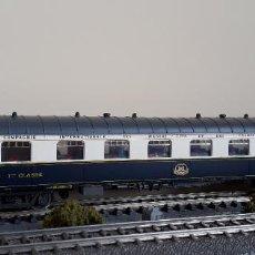 Trenes Escala: RIVAROSSI H0 COCHE PULLMAN 1ª CLASE Nº 4029 DE LA CÍA INTERNACIONAL WAGONS-LITS, REFERENCIA 2592.. Lote 221499500