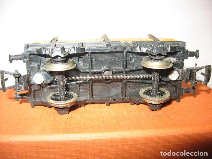 Trenes Escala: vagon mercancias de carga con maderas rivarossi - Foto 2 - 221969008