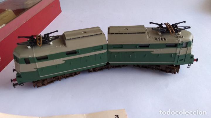 Trenes Escala: RIVAROSSI 1443, H0 LOCOMOTORA ELÉCTRICA ARTICULADA. MUY BUEN ESTADO. FUNCIONA - Foto 4 - 224668128
