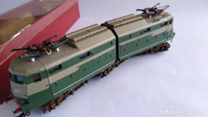 Trenes Escala: RIVAROSSI 1443, H0 LOCOMOTORA ELÉCTRICA ARTICULADA. MUY BUEN ESTADO. FUNCIONA - Foto 5 - 224668128