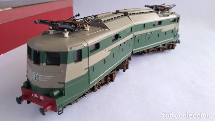 Trenes Escala: RIVAROSSI 1443, H0 LOCOMOTORA ELÉCTRICA ARTICULADA. MUY BUEN ESTADO. FUNCIONA - Foto 9 - 224668128