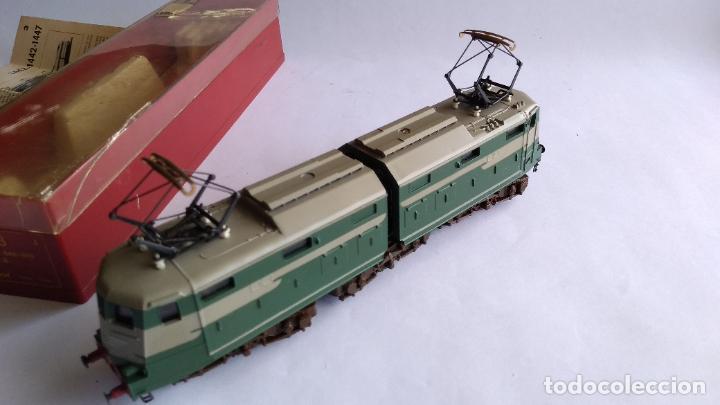 Trenes Escala: RIVAROSSI 1443, H0 LOCOMOTORA ELÉCTRICA ARTICULADA. MUY BUEN ESTADO. FUNCIONA - Foto 10 - 224668128