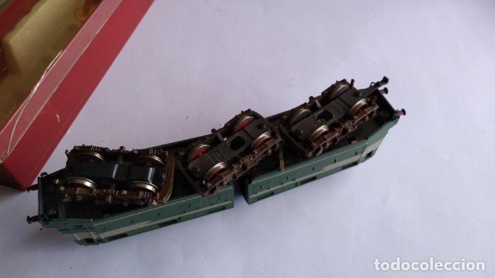 Trenes Escala: RIVAROSSI 1443, H0 LOCOMOTORA ELÉCTRICA ARTICULADA. MUY BUEN ESTADO. FUNCIONA - Foto 15 - 224668128