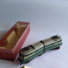 Trenes Escala: RIVAROSSI 1443, H0 LOCOMOTORA ELÉCTRICA ARTICULADA. MUY BUEN ESTADO. FUNCIONA. Lote 224668128