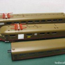 Trenes Escala: AUTOMOTOR RIVAROSSI TRES UNIDADES DE LA FS DOS MOTORES. Lote 226122296