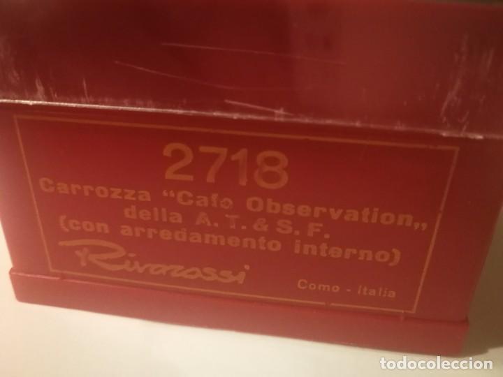 Trenes Escala: 2 VAGONES RIVAROSSI SANTA FE 2716 Y 2718 - Foto 8 - 226371840