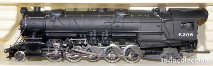 Trenes Escala: RIVAROSSI 1255–LOCOMOTORA VAPOR USA BALTIMORE&OHIO- HO corriente continua– CAJA ORIGINAL - Foto 2 - 226850820