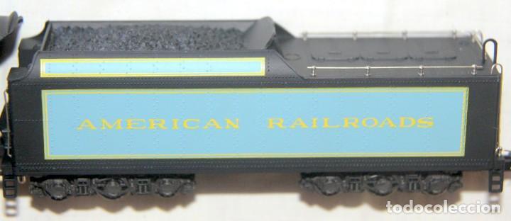 Trenes Escala: RIVAROSSI 1280–LOCOMOTORA VAPOR USA BERKSHIRE – HO corriente continua– CAJA ORIGINAL - Foto 3 - 226854090