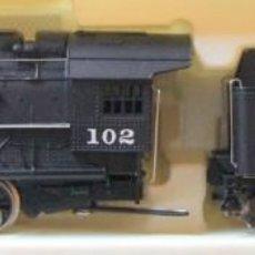 Trenes Escala: RIVAROSSI 1271–LOCOMOTORA VAPOR USA INDIANA HARBOR BELT -HO CORRIENTE CONTINUA– CAJA ORIGINAL. Lote 226858985